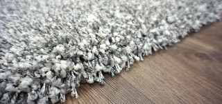 Twilight Rug White/Silver Rectangle