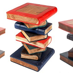 Books Stack - Painted