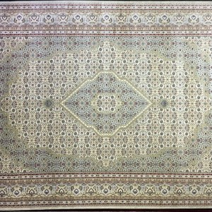 Tabriz Art Cream Green