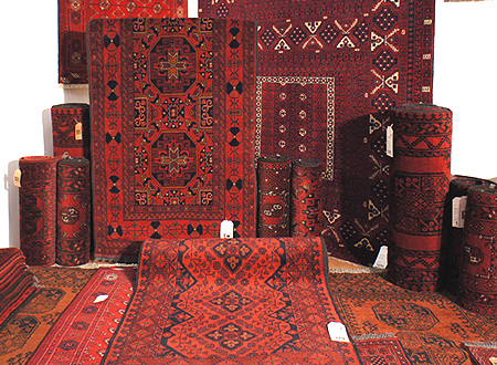 Afghan rugs at The Rug & Furniture Company.co.uk