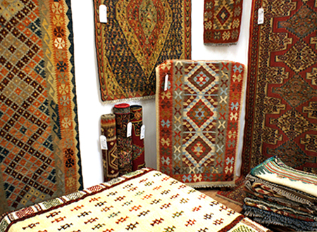 A great choice of Kilim rugs at The Rug & Furniture Company UK