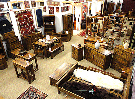 Exclusive Mangowood furniture at The Rug & Furniture Company UK
